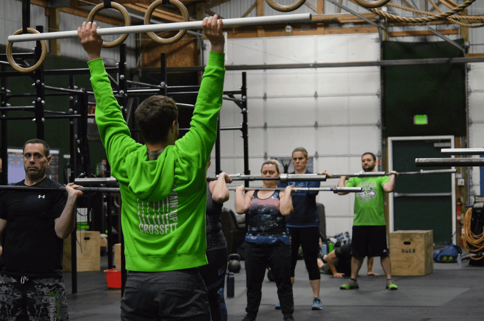 The Loop Fitness CrossFit Group Classes