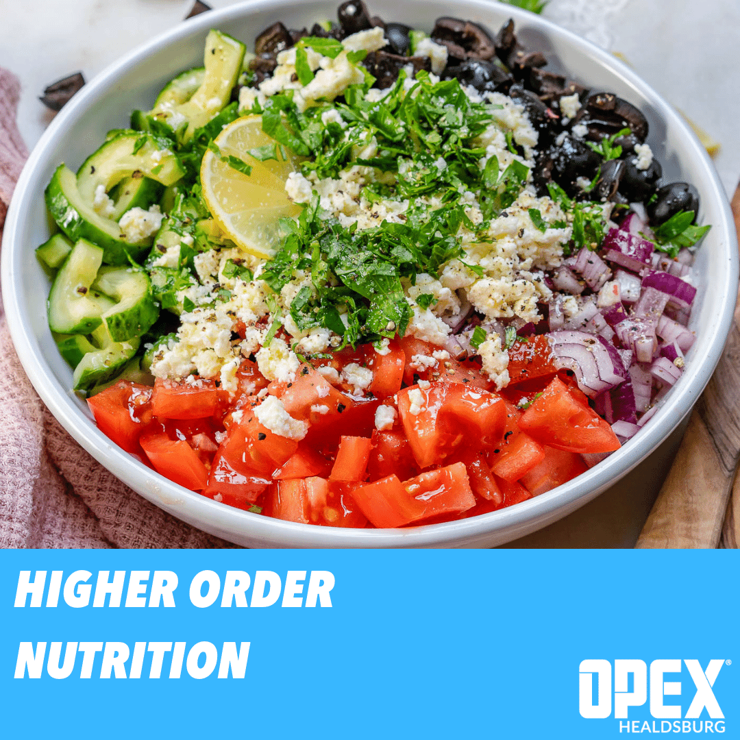 Higher Order Nutrition