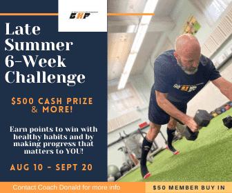 6 week challenge 3