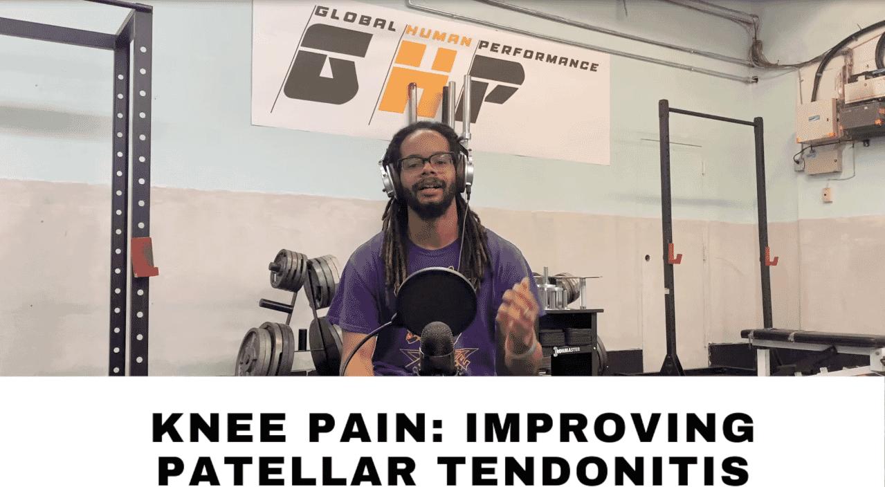 Knee Pain: Moving Past Patellar Tendonitis
