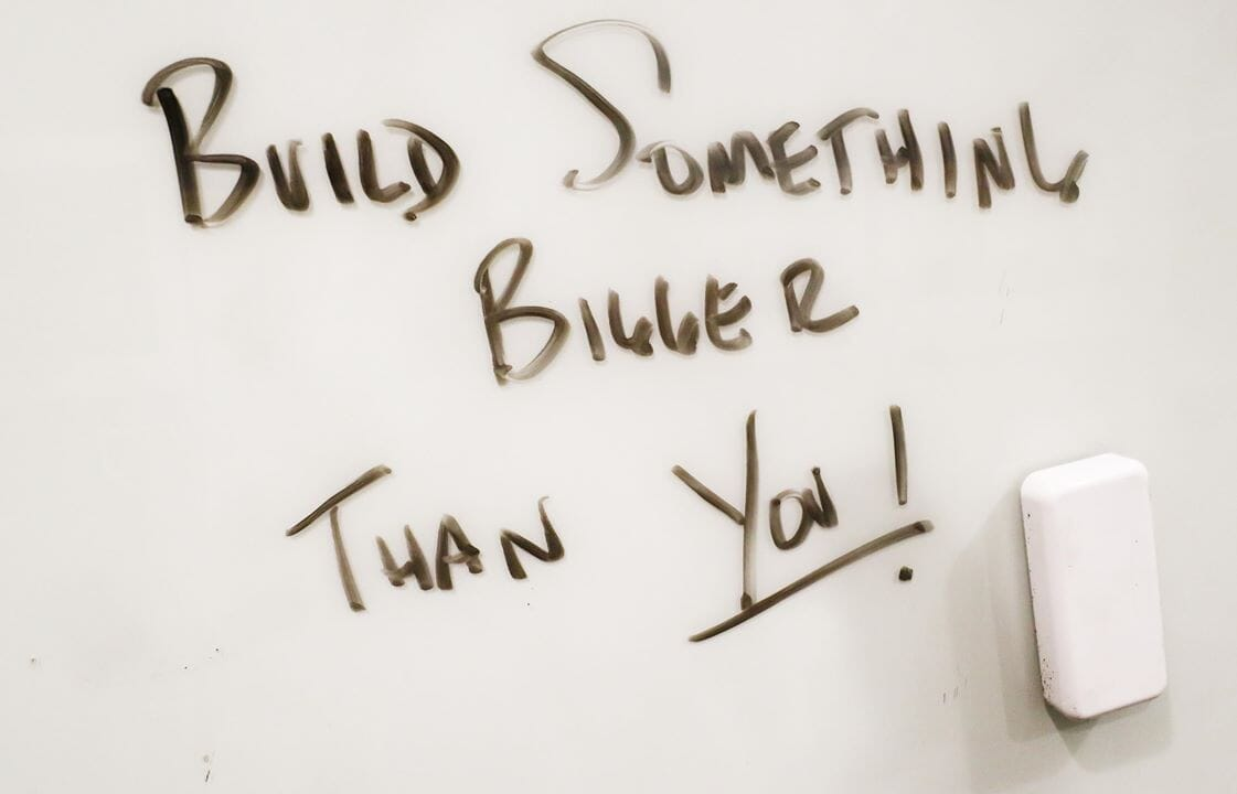 WTF Gym Talk | Build Something Bigger Than You