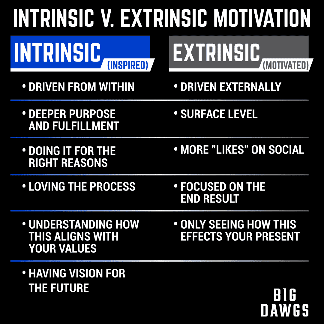 What's the Difference Between Intrinsic and Extrinsic Motivation? PART 1
