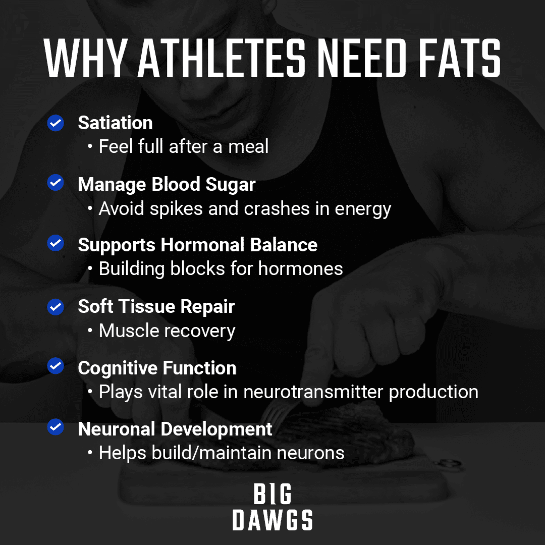 Why Athletes Need Fats
