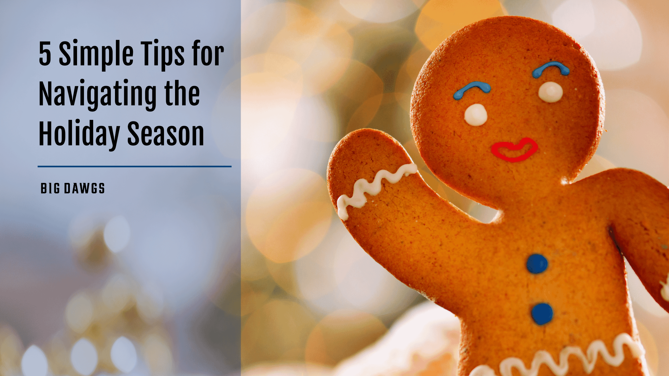 Simple Holiday Navigation - 5 Tips