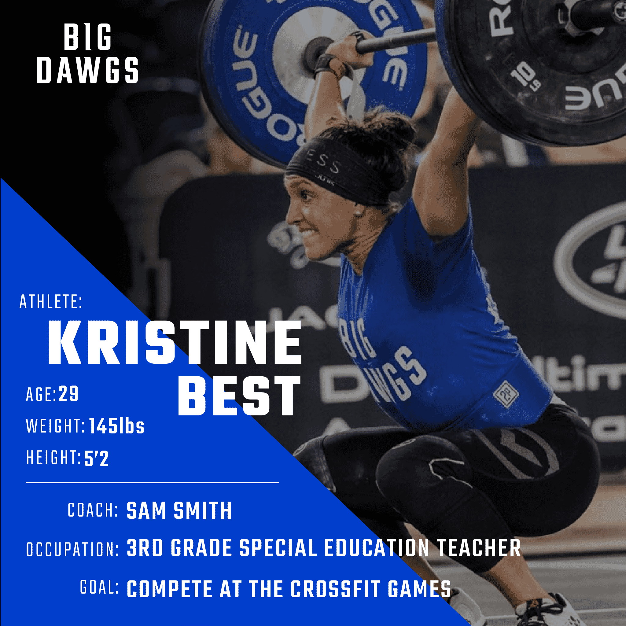 What I did after I lost my spot at the CrossFit Games: Kristine Best