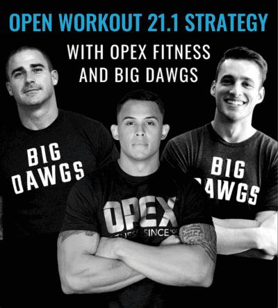 2021 CrossFit OPEN Strategy Guide 21.1