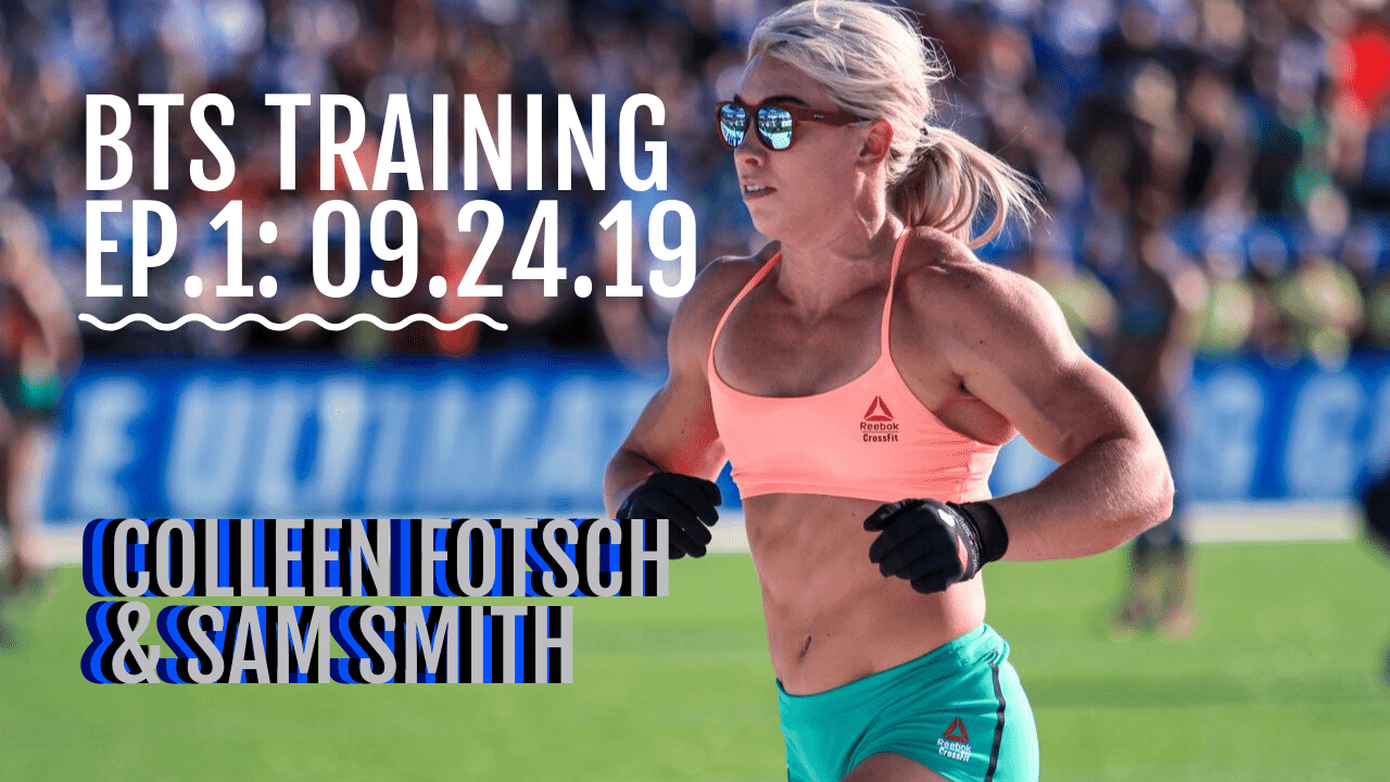 BTS TRAINING EP 1 COLLEEN FOTSCH