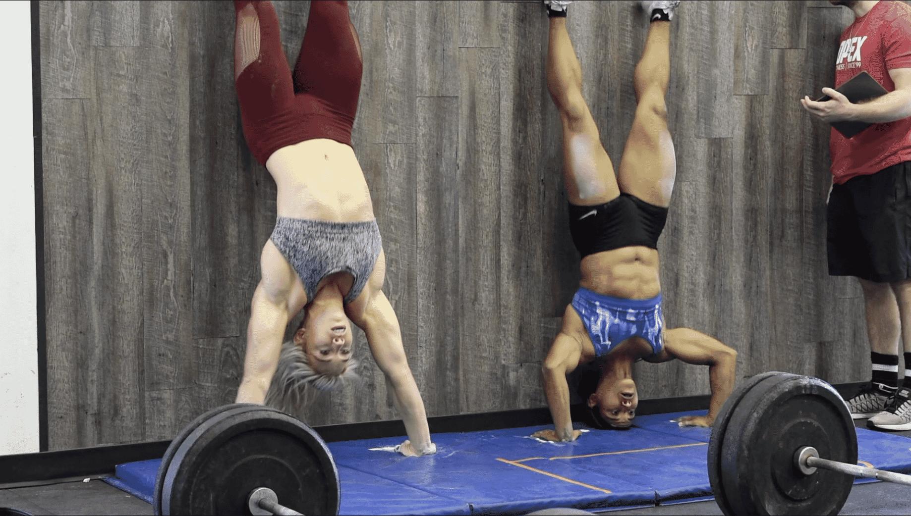 Amanda Goodman & Colleen Fotsch in CrossFit Open 2018