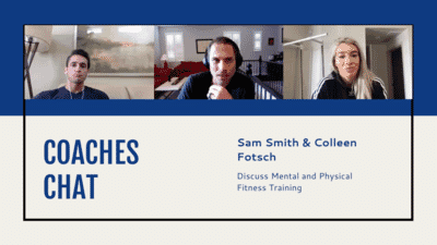 Coaches Chat - Colleen Fotsch's Mental and Physical Fitness Training