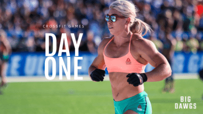 Day 1 of the 2019 CrossFit Games