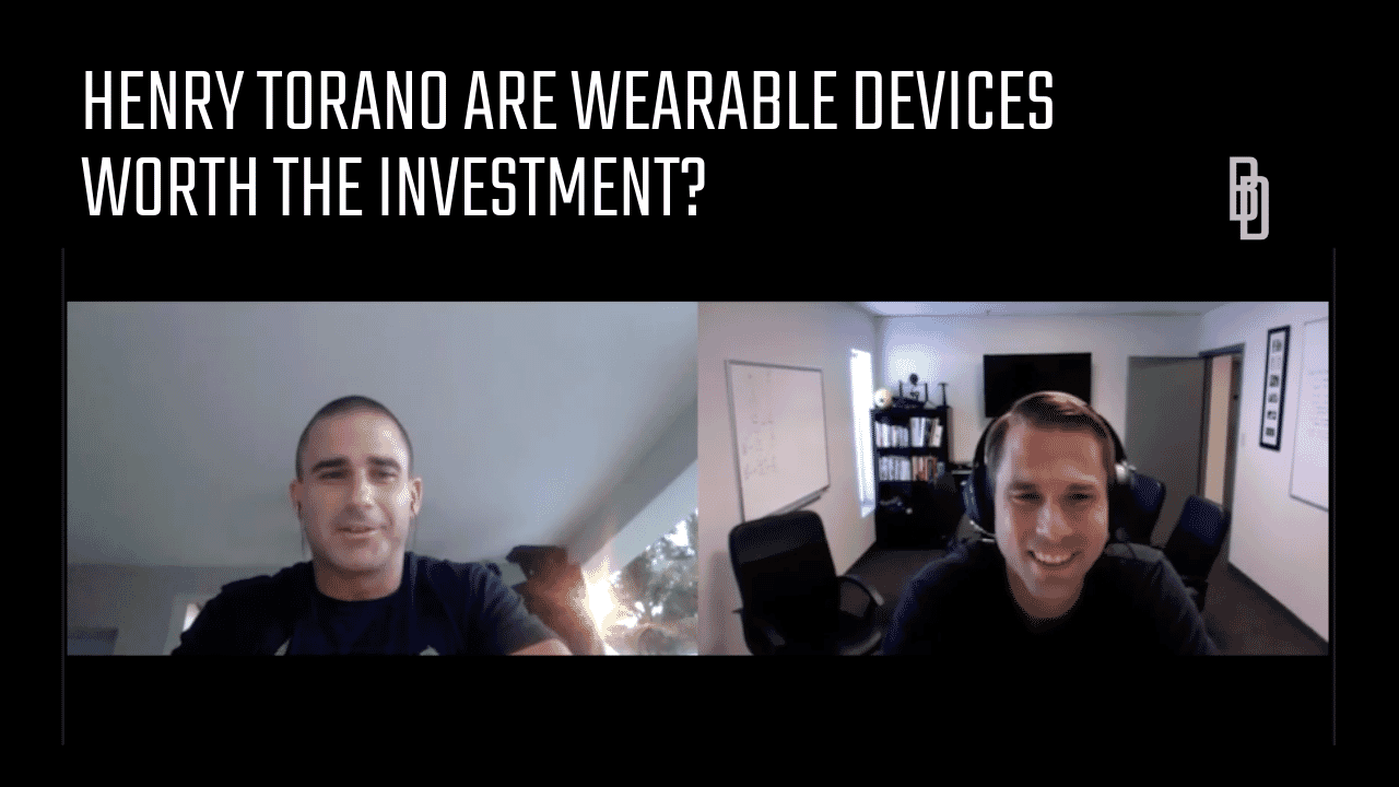 Coaches Chat - Henry Torano Gives His Insights On Wearable Devices