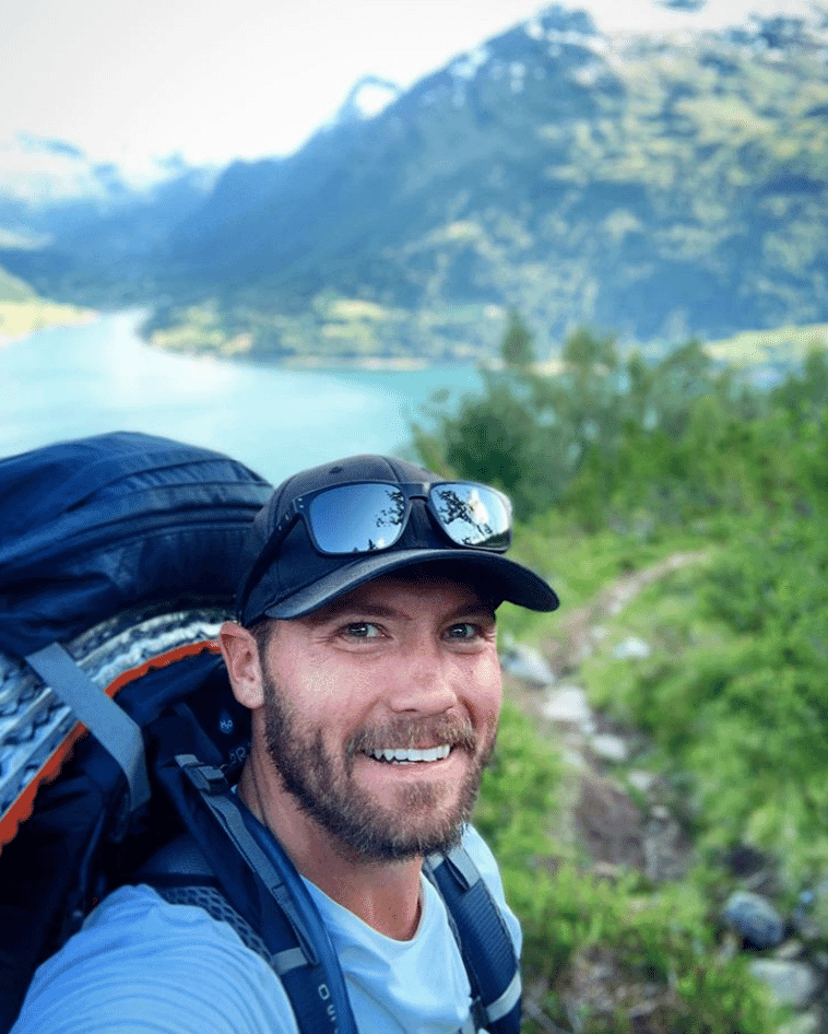 Michael Bann Hiking and Camping In Norway in 2019