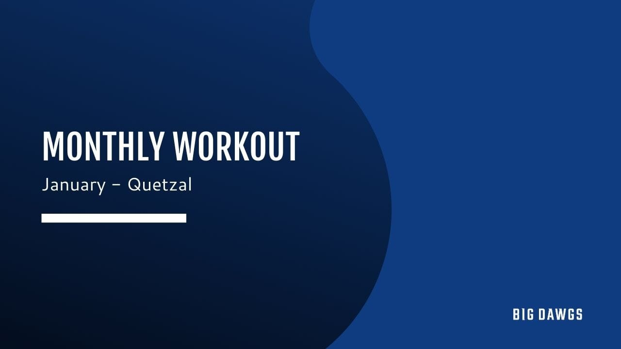 January Monthly Workout