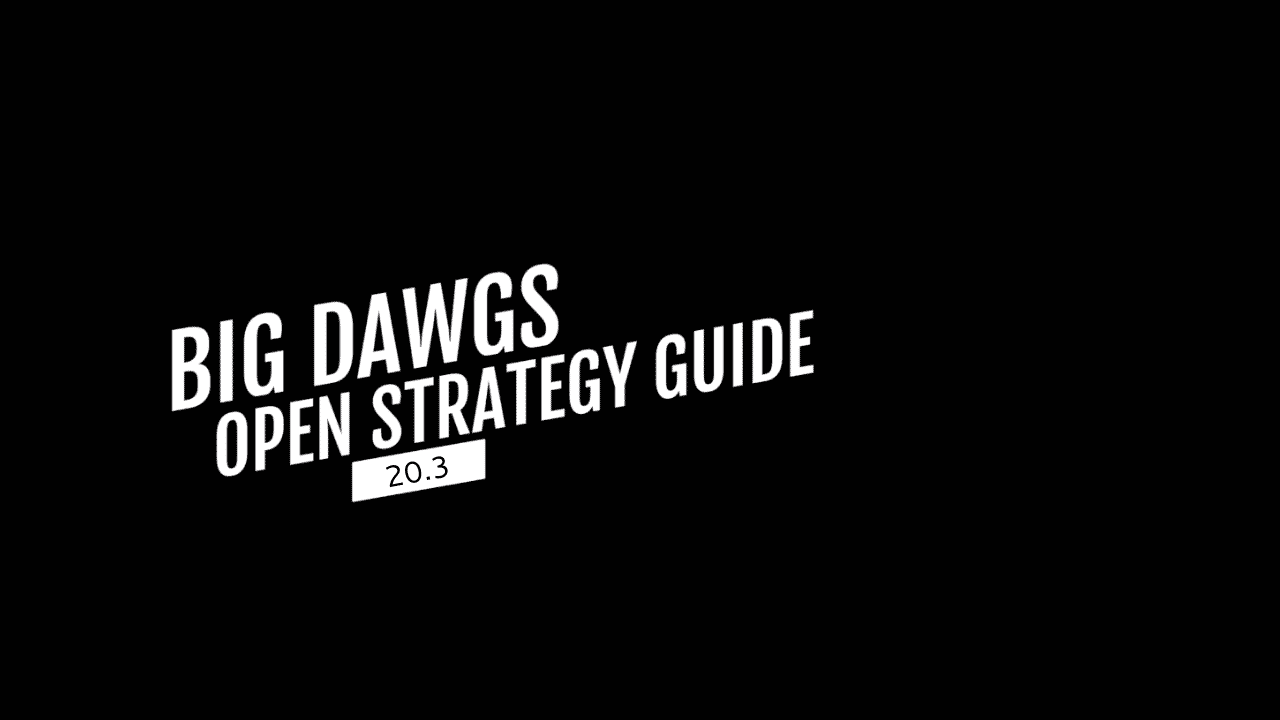 Open Strategy Guide 20.3