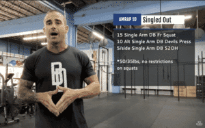 """February Monthly Workout- """"Singled Out"""""""