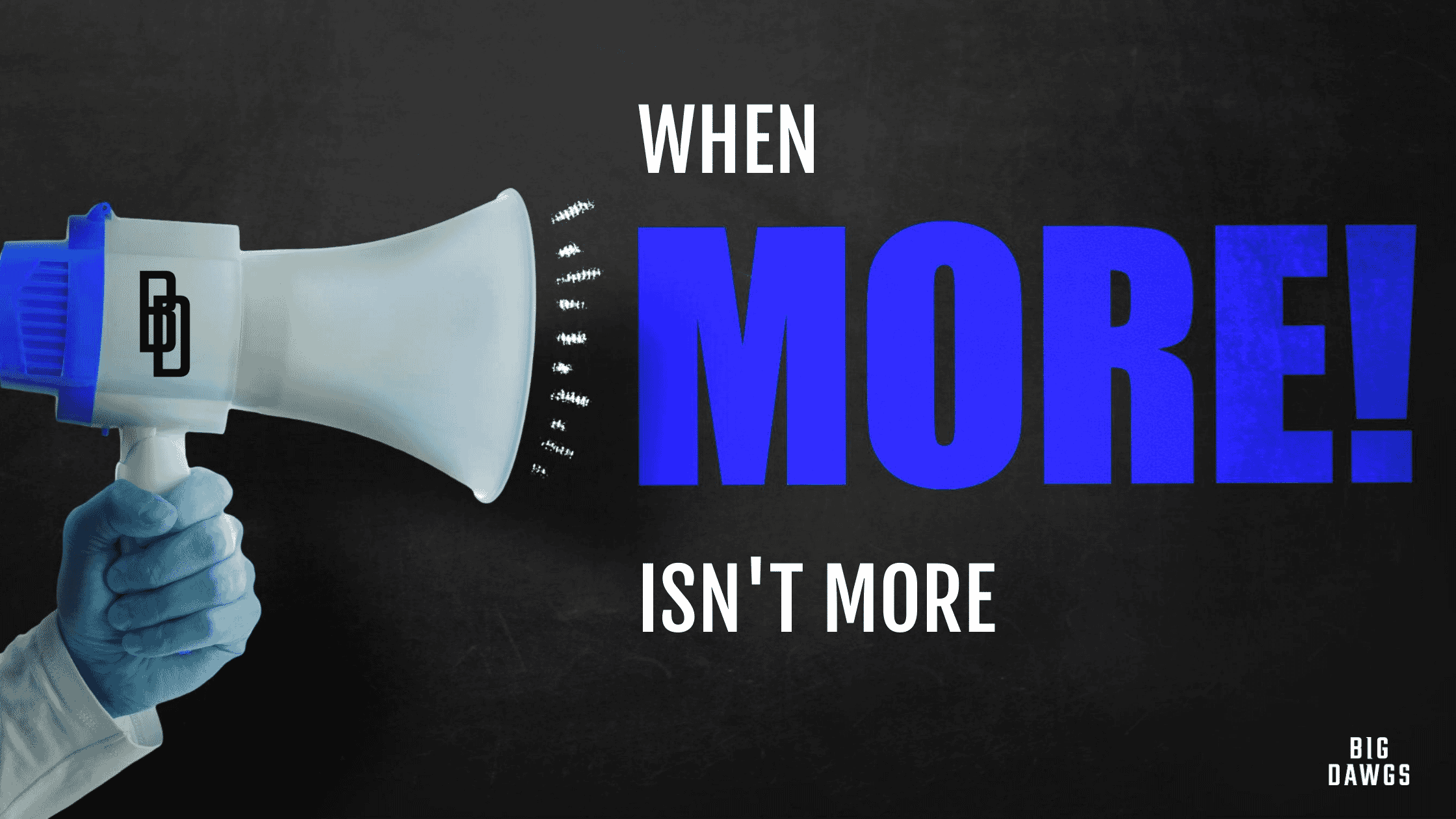 When More Isn't More
