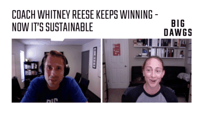 Coach Chat - Whitney Reese Discusses Winning For The Long-Run