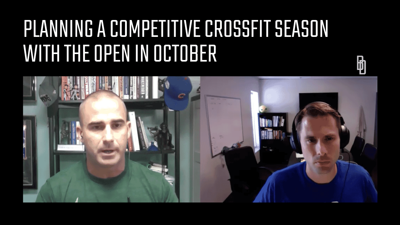 Planning a Competitive CrossFit Season With the Open In October