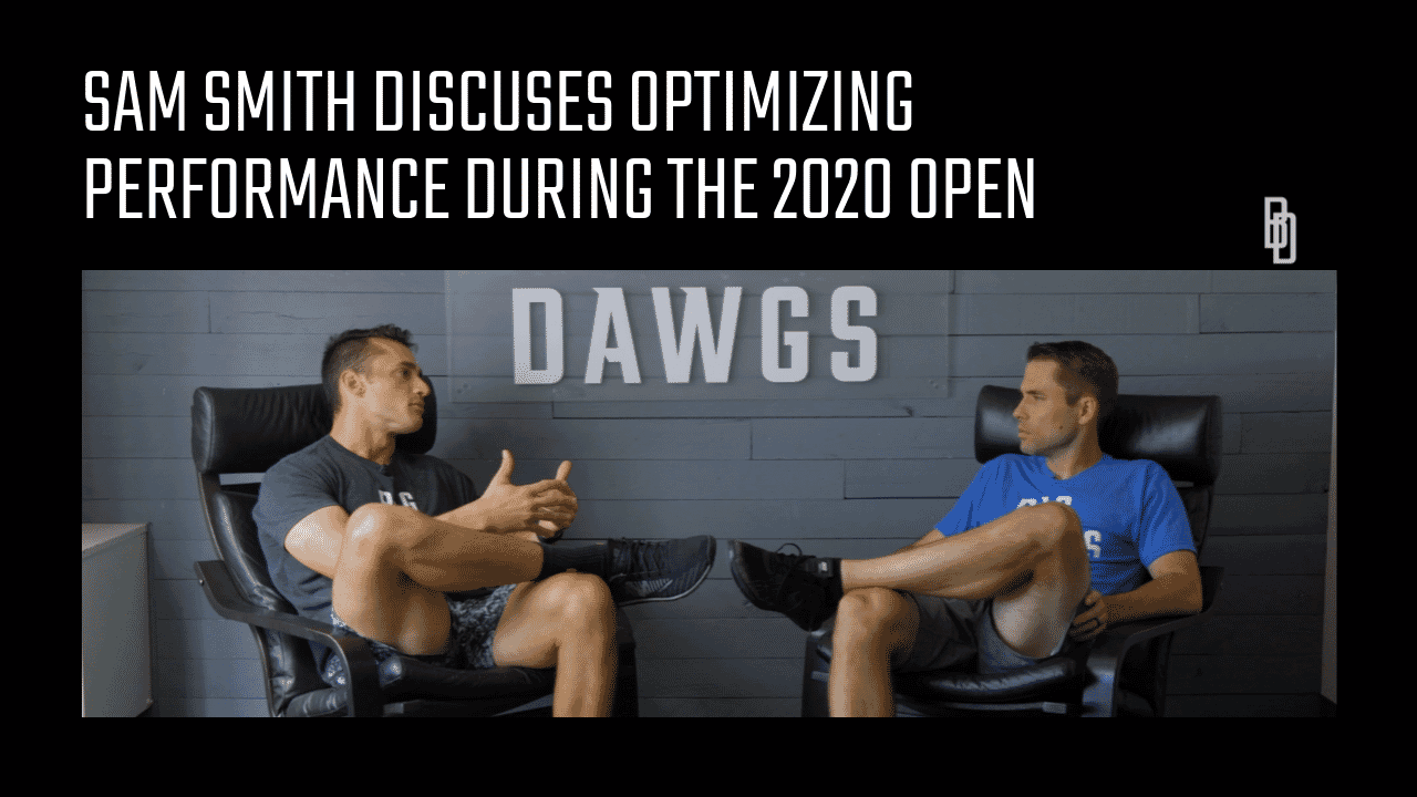 Coaches Chat - What Is And How To Optimize Your CrossFit Games Open Performance