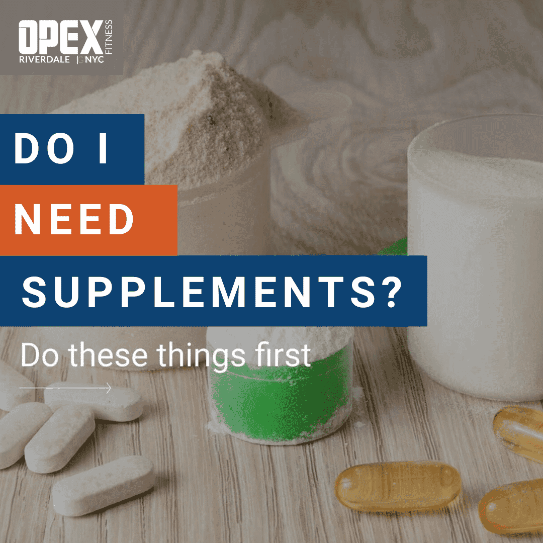 Do I Need Supplements?