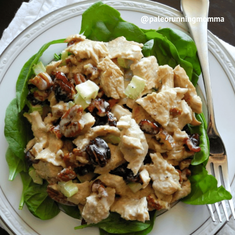 Turkey Cranberry Salad with Pecans