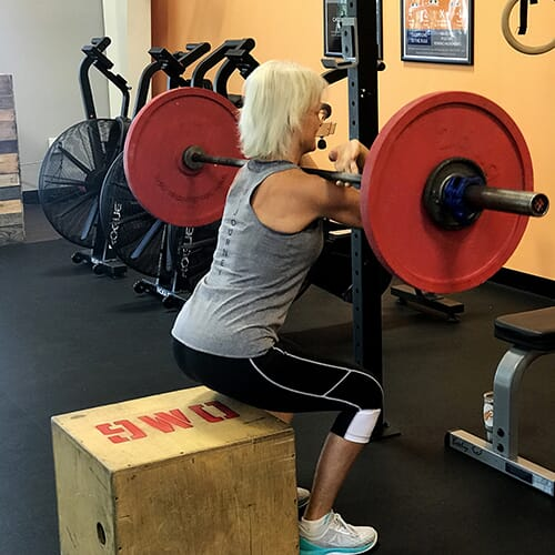 OPEX Gyms Client: Cindy Keisler