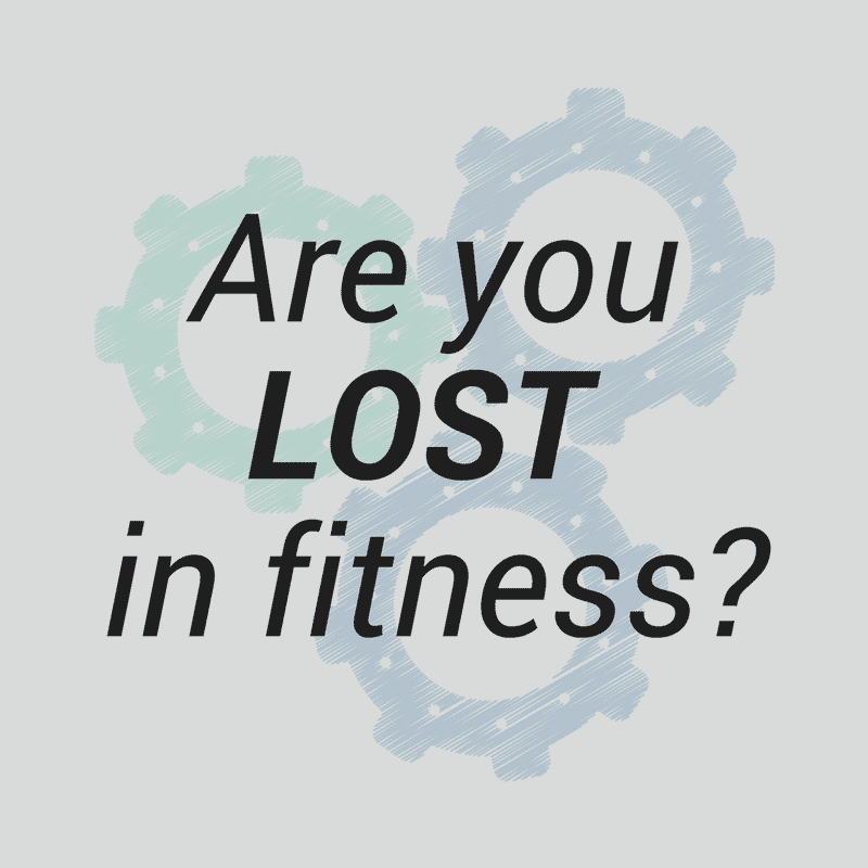 Lost in Fitness and Nutrition