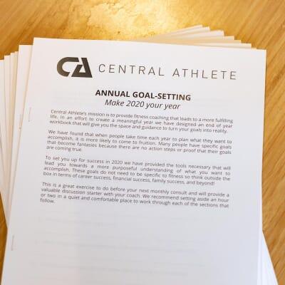 Central Athlete   Goal-Setting Workbook