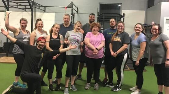 "CrossFit Spokane CFS ""MOVE"""